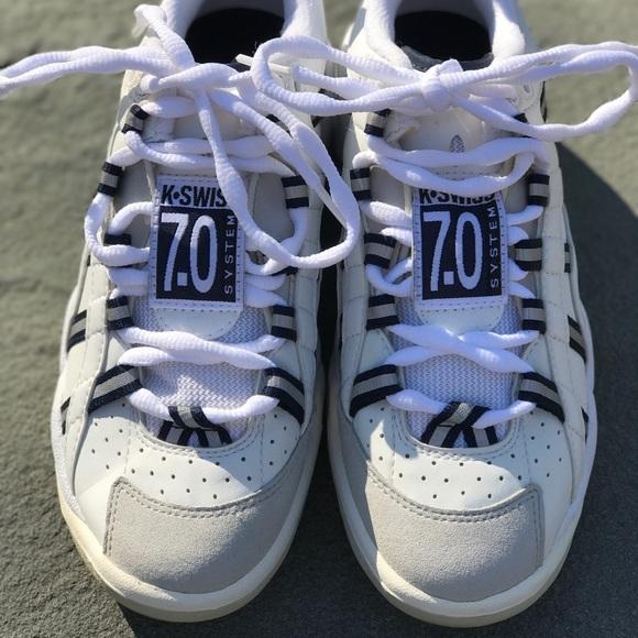 New K Swiss 7 System Tennis Sneaker